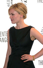 Paquin at 25th Annual Paley Television Festival, April 2009