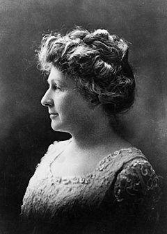 Mrs. Annie Jump Cannon, head-and-shoulders portrait, left profile. Library of Congress