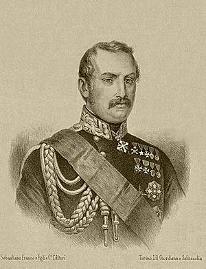Giovanni Durando - Image: Anonimo ritratto di Giovanni Durando litografia ca. 1850