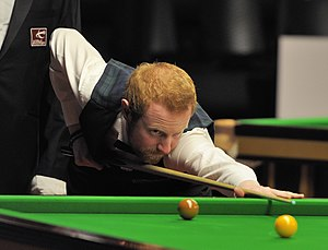 Anthony McGill (snooker player) - Anthony McGill at the 2014 German Masters