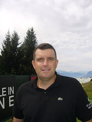 Anthony Wall - Omega European Masters, 2009