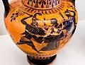 Antimenes Painter - ABV 269 extra - Herakles and Athena in chariot - man between duelling hoplites - København NCG 2627 - 02.jpg