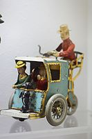 Antique German wind-up toy horseless carriage (25691675822).jpg