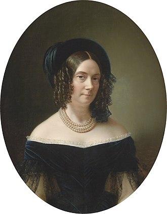 Anton Einsle - Image: Anton Einsle Erzherzogin Dorothea 1843