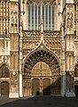 Antwerp OLVrouwekathedraal entrance.jpg