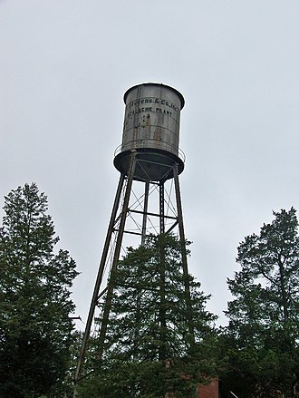 National Register of Historic Places listings in Spartanburg County, South Carolina - Image: Apalache Mill Water Tower