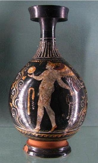 Lekythos - Image: Apulia Lekythos in Gnathia style