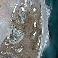 Aral Sea seen by SPOT satellite[clarify—discuss]