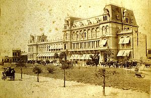 Pizzurno Palace - The Palace, c. 1890.