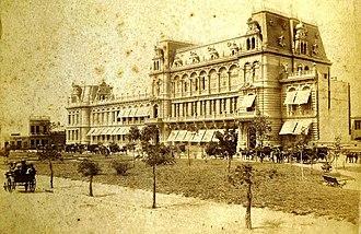 Pizzurno Palace - The Palace, c. 1890.