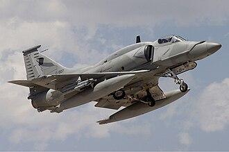 Lockheed Martin A-4AR Fightinghawk - Argentina Air Force McDonnell Douglas A-4AR Fightinghawk.