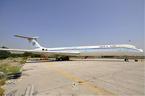 Aria Air Flight 1525 - An Aria Air Ilyushin Il-62, the type involved in the accident.