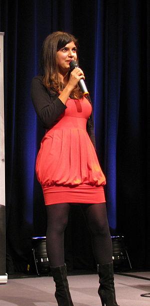 Ariane Sherine - Ariane Sherine speaking at TAM London in October 2009