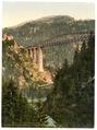 Arlberg Railway, Trisanna Viaduct and Castle Weisberg, Tyrol, Austro-Hungary-LCCN2002710996.tif