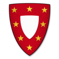 Armorial Bearings of the CHAMBERLAYNE family of Much Dewchurch, Herefordshire.png