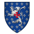 Arms of Sir Otho Holland, KG.png