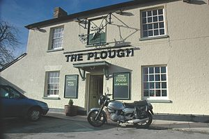 Arncott - The Plough public house in Ploughley Lane, Lower Arncott