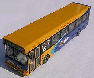 """Corgi Classics - A Corgi model bus. Buses are mainly produced under the """"Original Omnibus Company"""" brand."""