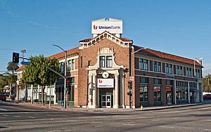 MUFG Union Bank - A branch in Los Angeles, California