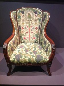 Art Deco Armchair Made For Art Collector Jacques Doucet (1912u201313)