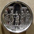 Arte costantinopolitana, piatti in argento con storie di david, 629-30, da karavas a cipro, 06.JPG