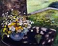 Artgate Fondazione Cariplo - Borgese Leonardo - Vaso di fiori con sfondo campestre.jpg