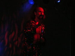"Arthur Brown al ""Wicker Man Festival"" nel 2005"