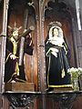 Arucas San Juan Bautista - Kalvarienkapelle 2a Christus Mater dolorosa.jpg