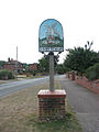 Ashby St Mary - village sign - geograph.org.uk - 1464852.jpg