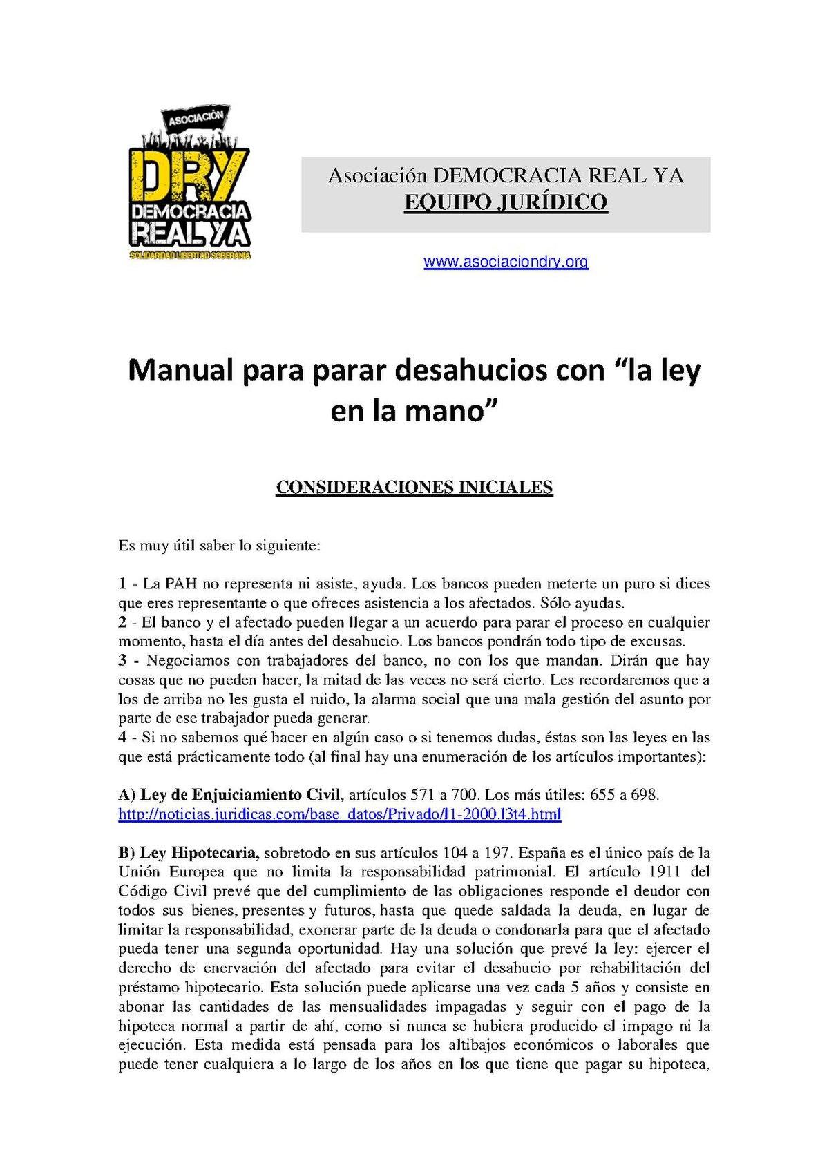 File:Asociacin Democracia Real Ya - Manual para parar desahucios ...