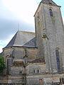 Assier - Église Saint-Pierre - Chevet clocher et sacristie.JPG