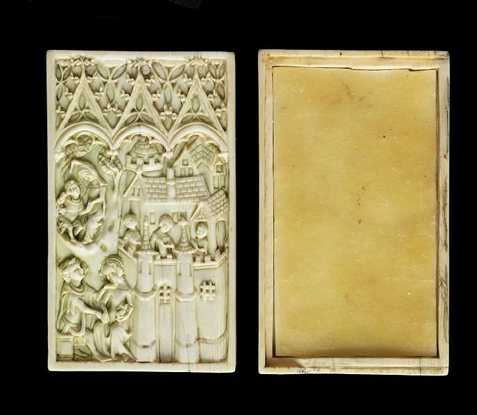 File:Atelier of the Boxes - Writing Tablet and Lid - Walters 71283 - View B.jpg