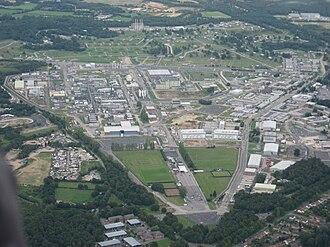 Atomic Weapons Establishment - Image: Atomic Weapons Establishment at Aldermaston