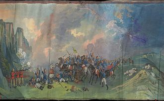 Battle of Bezzecca - Attack of the Austrians