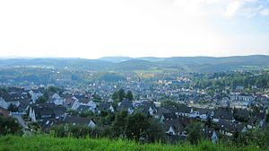 Attendorn - Inner town from the southeast