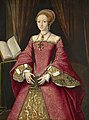 Attributed to William Scrots (active 1537-53) - Elizabeth I when a Princess - RCIN 404444 - Royal Collection.jpg