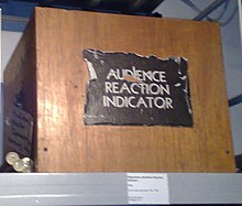 "Original ""Audience Reaction Indicator"" used on British TV game show ""Opportunity Knocks"""