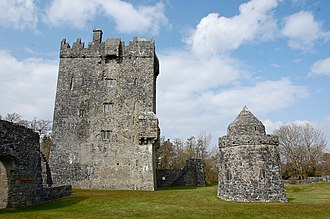Aughnanure Castle - Aughnanure Castle in County Galway, Ireland