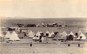 Aus, Namibia - Image: Aus kriegsgefangenenlage r 1915 1919