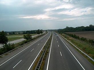 Südost Autobahn - Südost Autobahn near Guntramsdorf