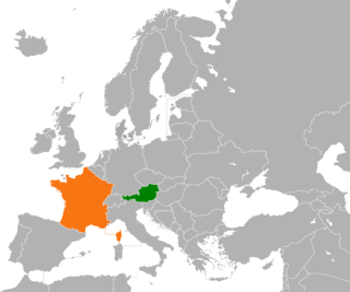 Diplomatic relations between the Republic of Austria and the French Republic