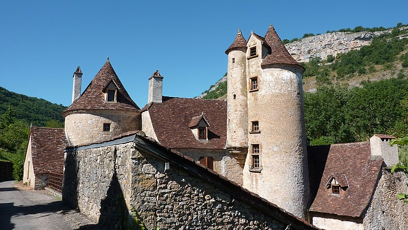 File:Autoire - Chateau de Limargue - замок Отуара