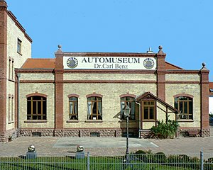 Automuseum Dr. Carl Benz - The museum building.