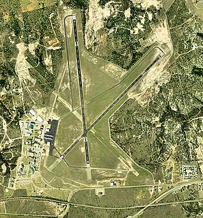 Avenger Field airport in Texas, United States of America