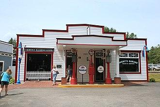 Clark's Trading Post - Avery's Garage at Clark's Trading Post