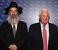 Avraham Rubinstein with David M. Friedman FOJ 2019 (48230539267) (cropped).jpg