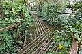 Ax - Parc du Sarrat - Pont , cheminements et signalétique , sculptures verticales et horizontales par Danielle Justes.jpg