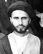 A young Khomeini