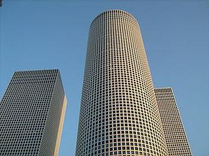 Zero Motivation - The Azrieli Towers are a symbol of big-city life for Daffi.
