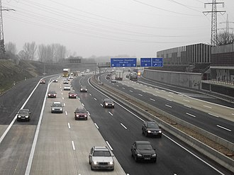Bundesautobahn 3 - the Cologne Beltway